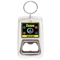 KEY CHAIN BTL OPENER PEACE SIGN