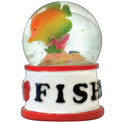 FISH WATER GLOBE MAGNETS