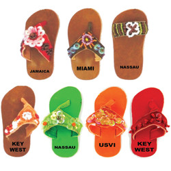 FLIP FLOP LEATHER MAGNETS