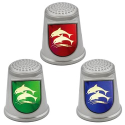 STAINLESS STEEL THIMBLES. DOLPHIN