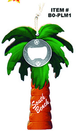 Palm Tree Bottle Opener South Beach