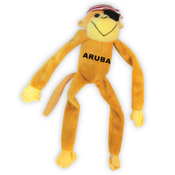 PLUSH MONKEY PIRATE TOY