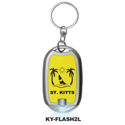 NEON FLASHLIGHT KEYCHAINS