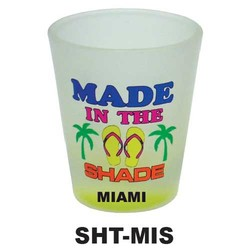 MADE IN THE SHADE, NEON SHOT GLASS