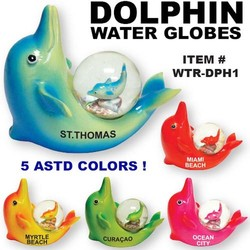 Dolphin Water Globes