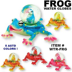 Frog Water Globes