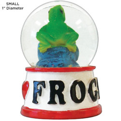 Frog Tropical Water Globes
