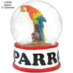 Parrots Tropical Water Globes