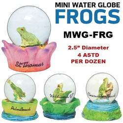 Frogs Mini Water Globes