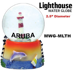 Lighthouse Water Globe