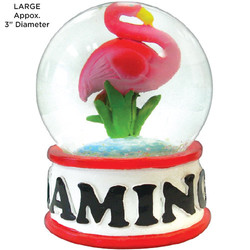 Flamingo Tropical Water Globes
