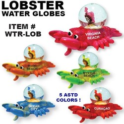 Lobster Water Globes