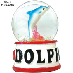 Dolphin Tropical Water Globes