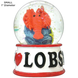 Lobster Tropical Water Globes