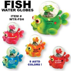 Fish Water Globes