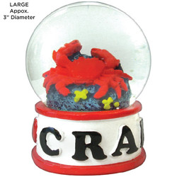 Crab Tropical Water Globes