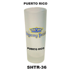 PUERTO RICO SHOOTER GLASSES